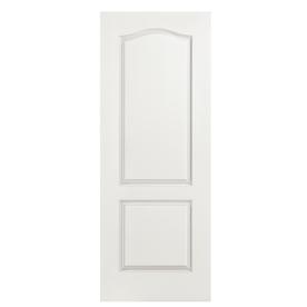 Reliabilt 18 in x 80 in 2 panel arch top hollow core for 18 x 80 interior door
