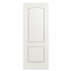 ReliaBilt 24-in x 80-in 2-Panel Arch Top Molded Composite Hollow Core Non-Bored Interior Slab Door