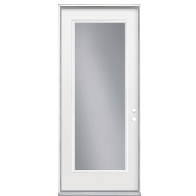 ReliaBilt 32-in Clear Outswing Entry Door
