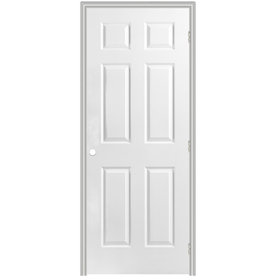 Shop reliabilt prehung hollow core 6 panel interior door for Door 31 5 x 79