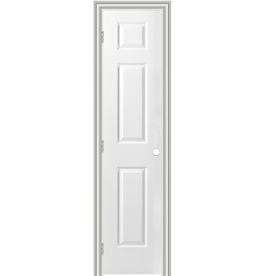 Shop Reliabilt Prehung Hollow Core 6 Panel Interior Door Common 18 In X 80 In Actual 19 5 In
