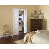 ReliaBilt White Solid Core Full Louver Pine Bi-Fold Closet Interior Door (Common: 36-in x 80-in; Actual: 35.5-in x 79-in)