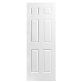 Lowes Interior Doors on Reliabilt 28  X 80  6 Panel Hollow Interior Slab Door At Lowes Com