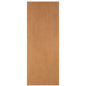 Shop reliabilt flush solid wood core lauan unfinished slab for Flush solid core wood interior doors