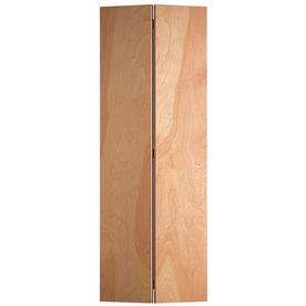 Shop reliabilt hollow core flush birch bi fold closet - Hollow core flush interior doors ...