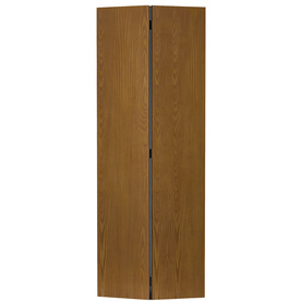 Shop reliabilt hollow core flush oak bi fold closet - Hollow core flush interior doors ...