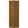ReliaBilt 30-in x 80-in Flush Hollow Core Oak Interior Bifold Closet Door