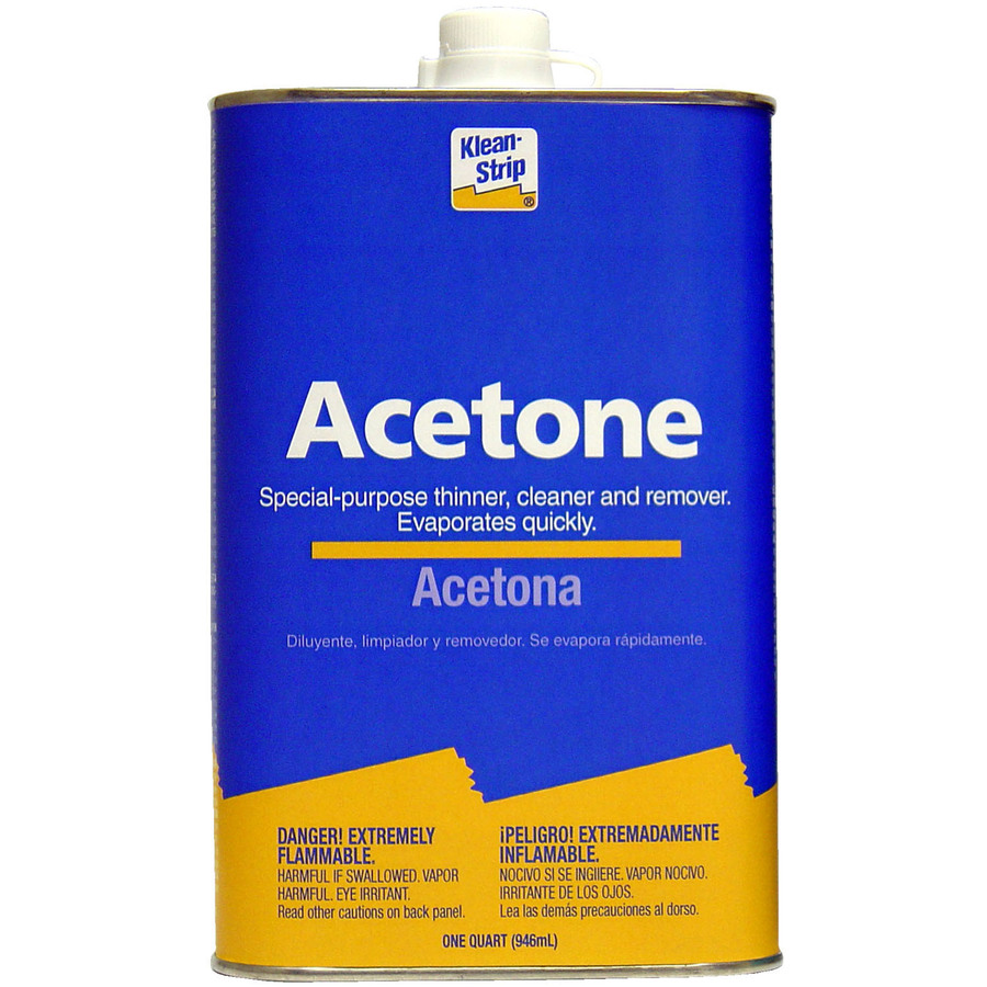 Shop Klean-Strip Quart Acetone at Lowes.com