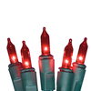 Holiday Living 100-Count Incandescent Mini Red Christmas String Lights