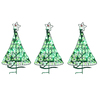 Holiday Living 40-Count LED Mini Green Christmas Pathway Marker String Lights