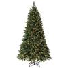 Holiday Living 7.5-ft Pine Pre-Lit Artificial Christmas Tree 600 Clear Incandescent Lights