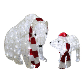 ... Outdoor Christmas Decoration with White LED Lights at Lowes.com