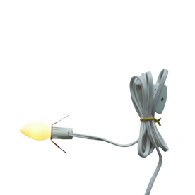 Holiday Living Indoor Incandescent C7 White Christmas White-Corded Christmas String Lights