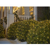Holiday Living 4-Ft x 6-Ft Indoor/Outdoor Constant Clear Incandescent Plug-In Mini Christmas Net Lights