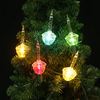Holiday Living 7-Count Multicolor Bubble Christmas String Lights