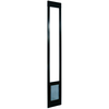 Small Bronze Aluminum Sliding Pet Door (Actual: 7-in x 5-in)