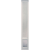 Ideal Pet Products VPP Medium White Vinyl Sliding Door Pet Door (Actual: 11.25-in x 7-in)