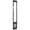 Medium Bronze Aluminum Sliding Pet Door (Actual: 10.5-in x 7.5-in)
