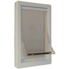 Ideal Pet Products Medium Cream Plastic Pet Door (Actual: 11.25-in x 7-in)