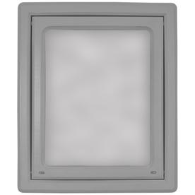 Ideal Pet Products Medium White Plastic Pet Door (Actual: 10.5-in x 9.75-in)