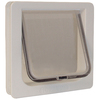 Ideal Pet Products Small Cream Plastic Pet Door