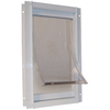 Ideal Pet Products Small White Aluminum Pet Door