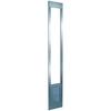 Ideal Pet Products Aluminum Pet Patio with Custom Rise X-Large Silver Aluminum Sliding Door Pet Door (Actual: 15-in x 10.5-in)