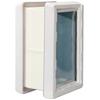 Ideal Pet Products Medium Cream Plastic Wall Pet Door (Actual: 13-in x 7.25-in)
