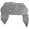 USP Steel G90 Post Cap (Common: 6-in; Actual: 3.562-in)