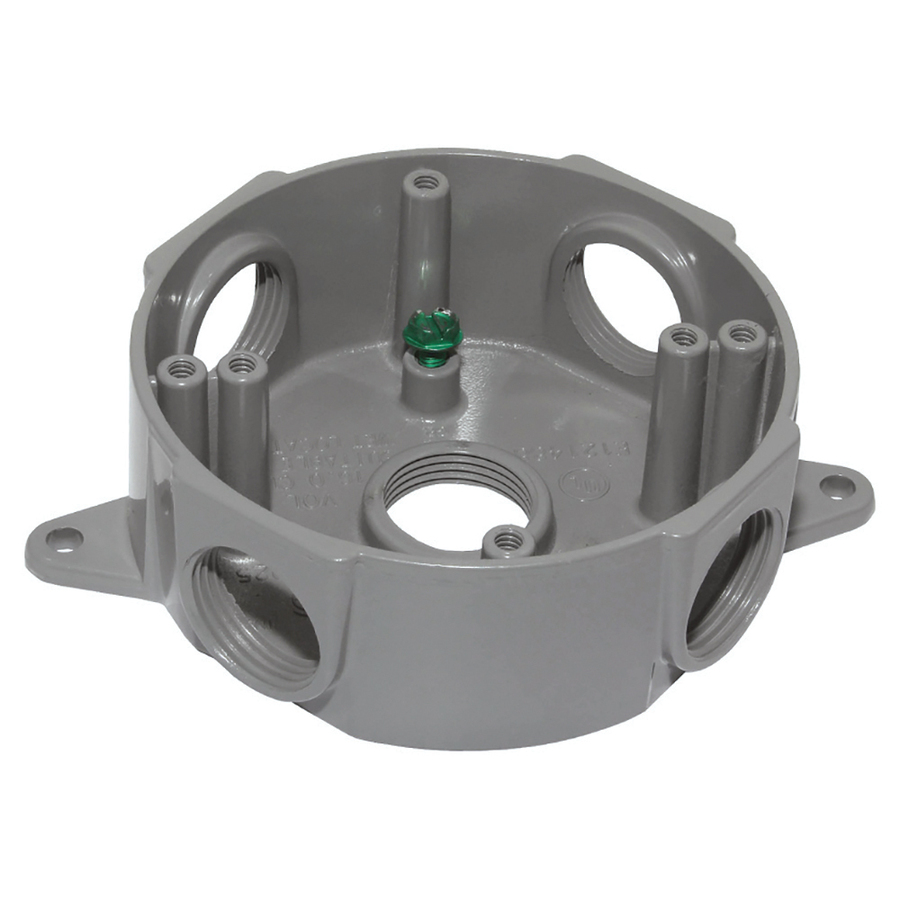 Round Metal Electrical Box Round Free Engine Image For