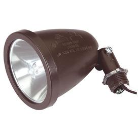 3.5-in 1-Head Halogen Bronze Switch-Controlled Flood Light
