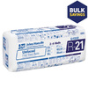 Johns Manville R21 23-in x 93-in Unfaced Fiberglass Batt Insulation with Sound Barrier