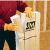 Johns Manville EasyFit R15 15-in x 7-ft 9-in Faced Fiberglass Batt Insulation with Sound Barrier