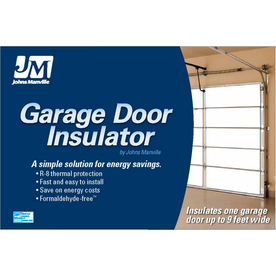 Shop Johns Manville R 8 Garage Door Insulation Panel Kit