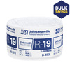 Johns Manville R19 15-in x 39.16-ft Unfaced Fiberglass Roll Insulation with Sound Barrier