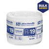 Johns Manville R19 23-in x 39.16-ft Unfaced Fiberglass Roll Insulation with Sound Barrier