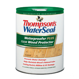 Thompson's WaterSeal ThompsonS Waterseal Waterproofer Plus Clear Wood Protector- 5 Gal