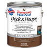 Thompson's WaterSeal 1-Gallon Chestnut Brown Solid Exterior Stain