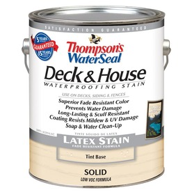Thompson's WaterSeal 120 fl oz Tint Base Solid Exterior Stain