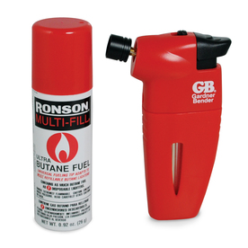 Gardner Bender Pocket Butane Torch with Butane Refill; 1/Clam