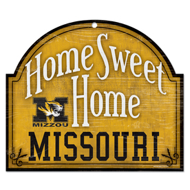WinCraft Sports 11&#034; x 10&#034; Missouri Home Sweet Home Sign