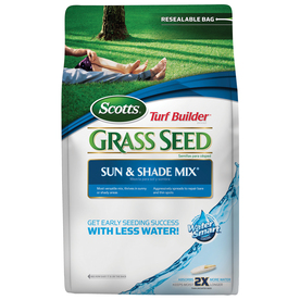 Scotts Turf Builder 3 Lbs Sun and Shade Mix Bluegrass Grass Seed Blend