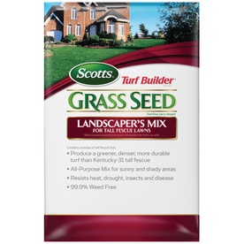 Scotts Turf Builder 40 lbs Sun and Shade Grass Seed Mixture