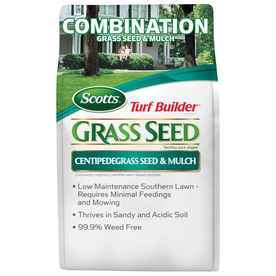 Scotts 5 Lbs. Turf Builder Centipedegrass Seed & Mulch