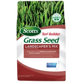Scotts Turf Builder and 20-lb Landscaper's Grass Seed