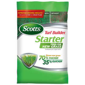 Scotts 5,000-sq ft Turf Builder Starter Food for New Grass Lawn Fertilizer (24-25-4)