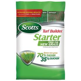 Scotts 14000 sq ft Turf Builder Starter Fall Lawn Fertilizer