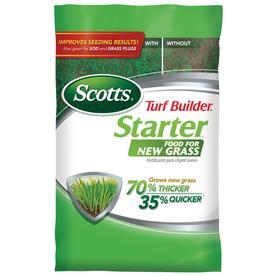 Scotts 14,000-sq ft Turf Builder Starter Lawn Fertilizer (24-25-4)