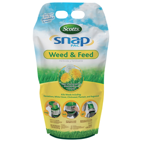 Scotts 4,000-sq ft Snap Pac Weed and Feed Lawn Fertilizer (25-0-4)