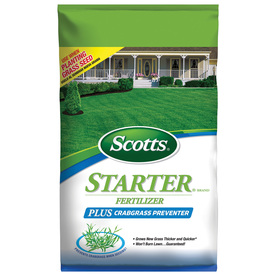 Scotts 5,000-sq ft Turf Builder Weed Control Lawn Fertilizer (18-23-4)